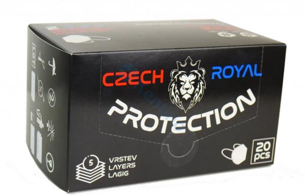 Royal Czech Respirators Box x20